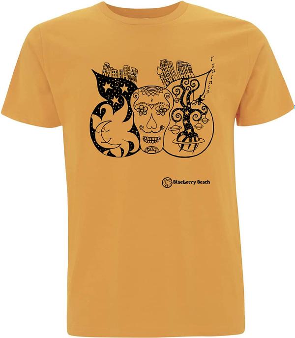 Mango sugar skull t-shirt