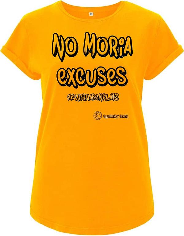 No Moria excuses gold yellow