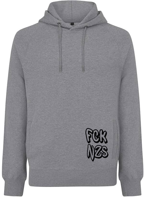 FCK nzs organic hoodie