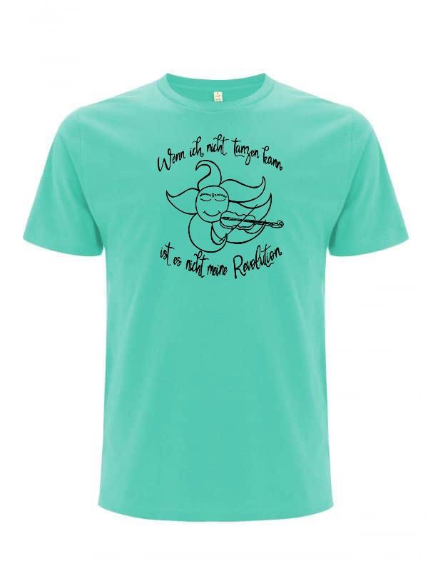 Mint organic men t-shirt