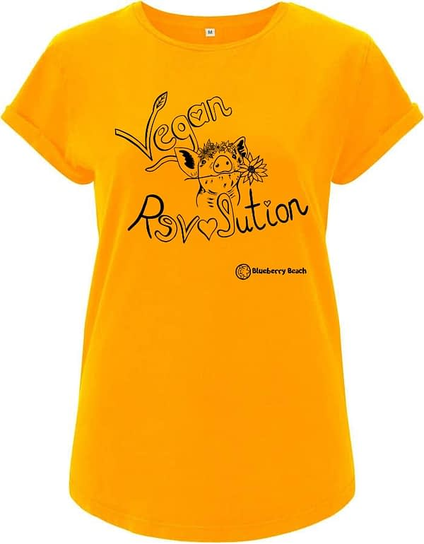 Vegan Revolution organic women t-shirt