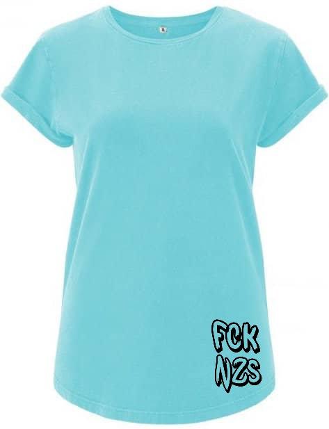 FCK nzs Blue t-shirt