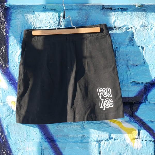 fck nzs upcycled skirt