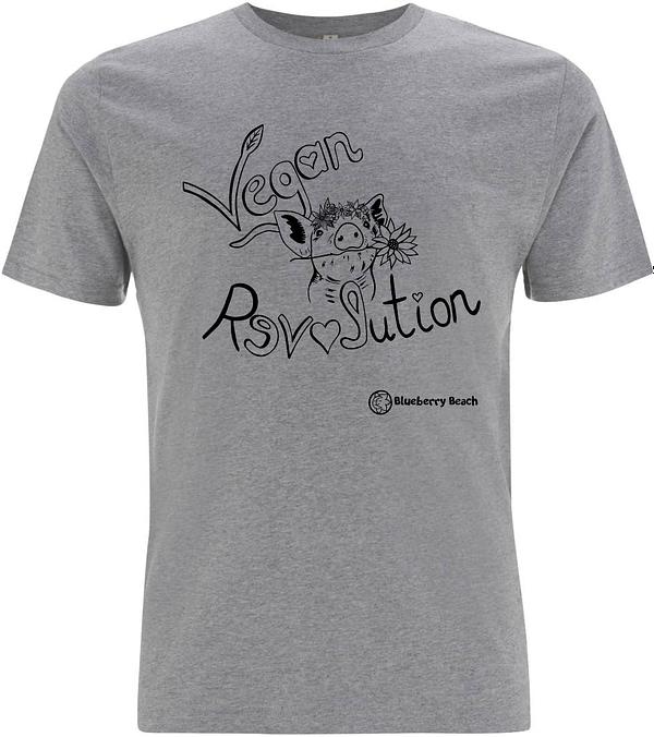 Vegan Revolution organic men t-shirt