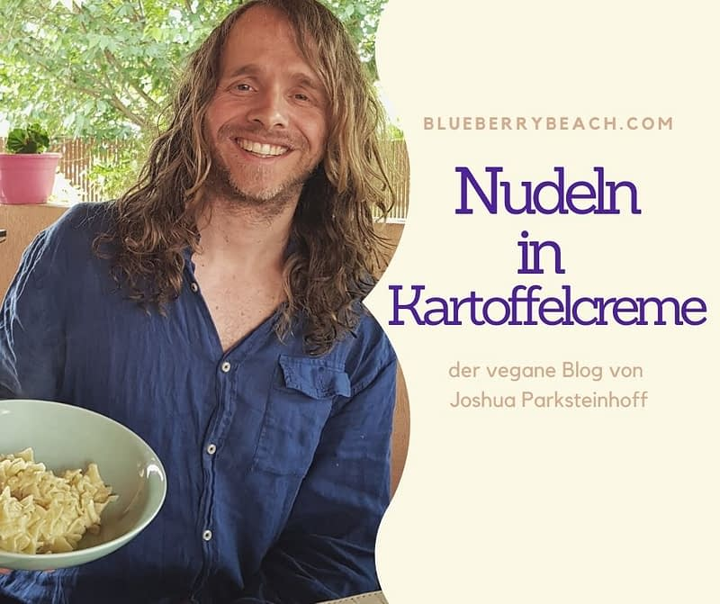 Joshua präsentiert ein veganes rezept