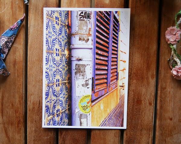 insane love portugal postcard