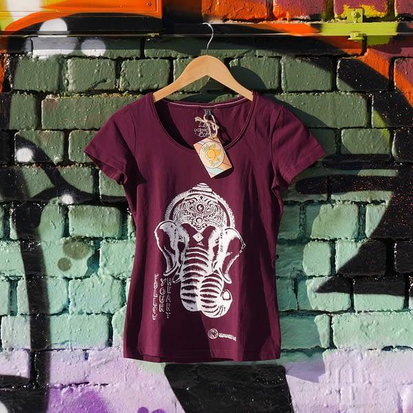 follow your heart organic cotton t-shirt