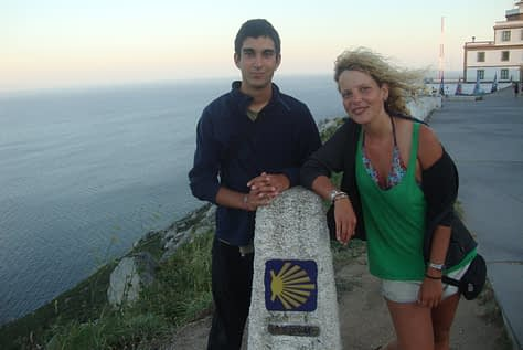 Zoé and Aleix at the endof the world
