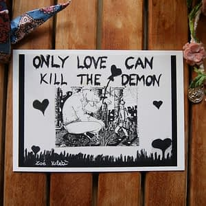 only love can kill the demon by zoé keleti