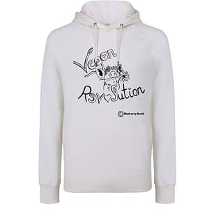 Vegan revolution hoodie