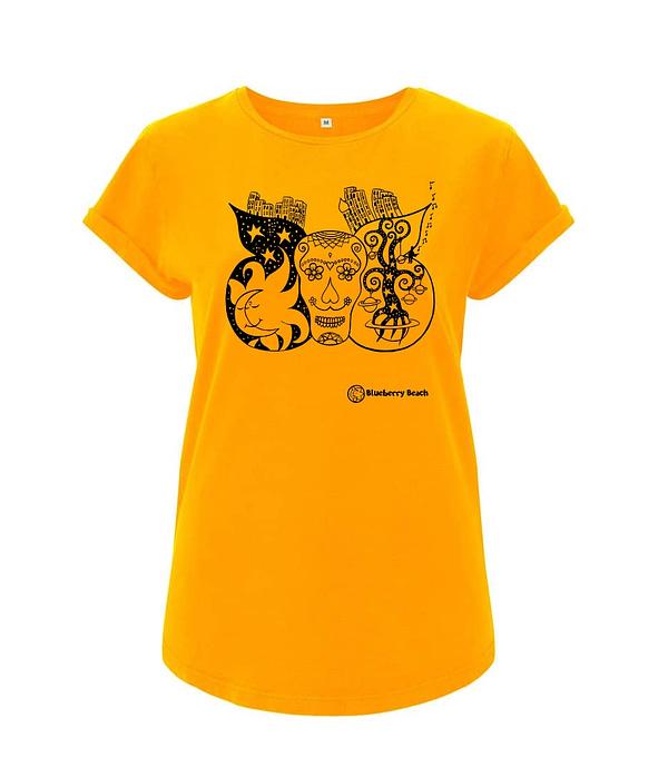 Sugar skull organic t-shirt
