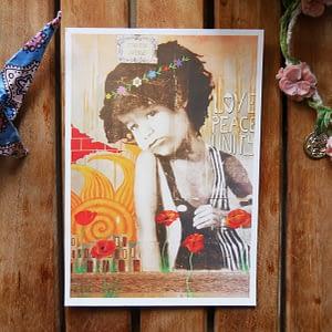 love peace unity joshua parksteinhoff zoé keleti graffiti kid flowercrown