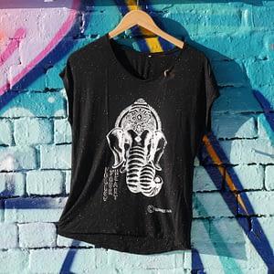 follow your heart black t-shirt