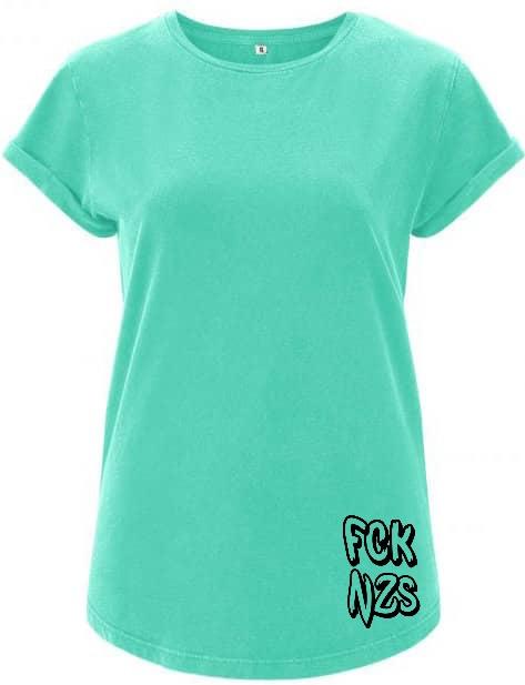 FCK nzs mint t-shirt