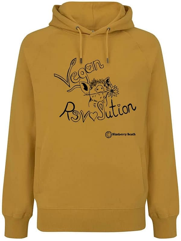Vegan revolution mango hoodie
