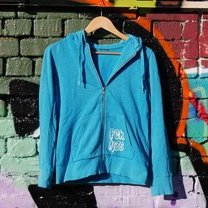 fck nzs upcycled hoodie