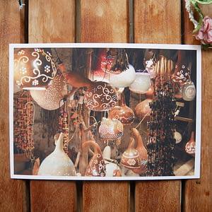 stars of turkey travel postcard by joshua parksteinhoff