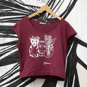 sugar skull women t-shirt